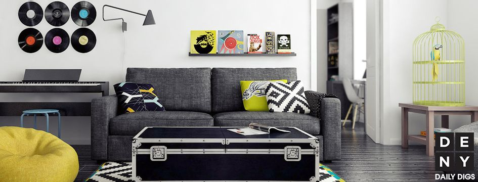 Nice Rock N Roll Home Design Part - 9: Rock U0027N Roll Chartreuse | Daily Digs | DENY Designs Home Accessories