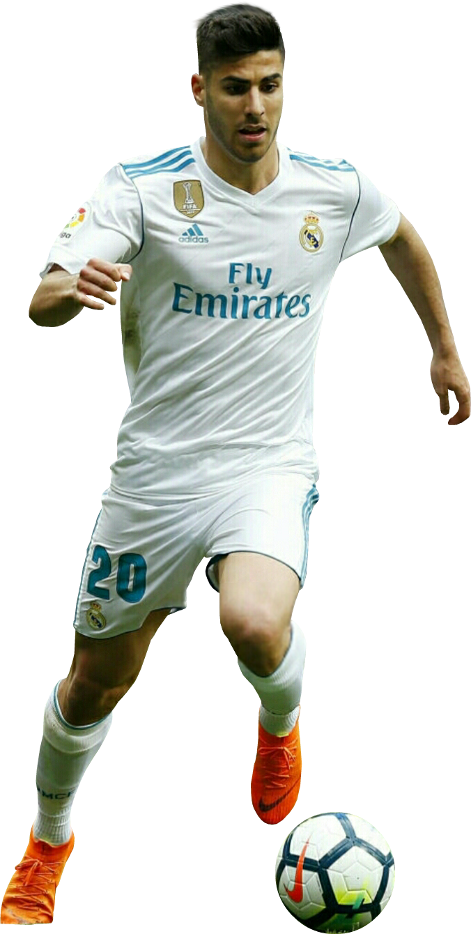 Marco Asensio render (Real Madrid). View and download ...