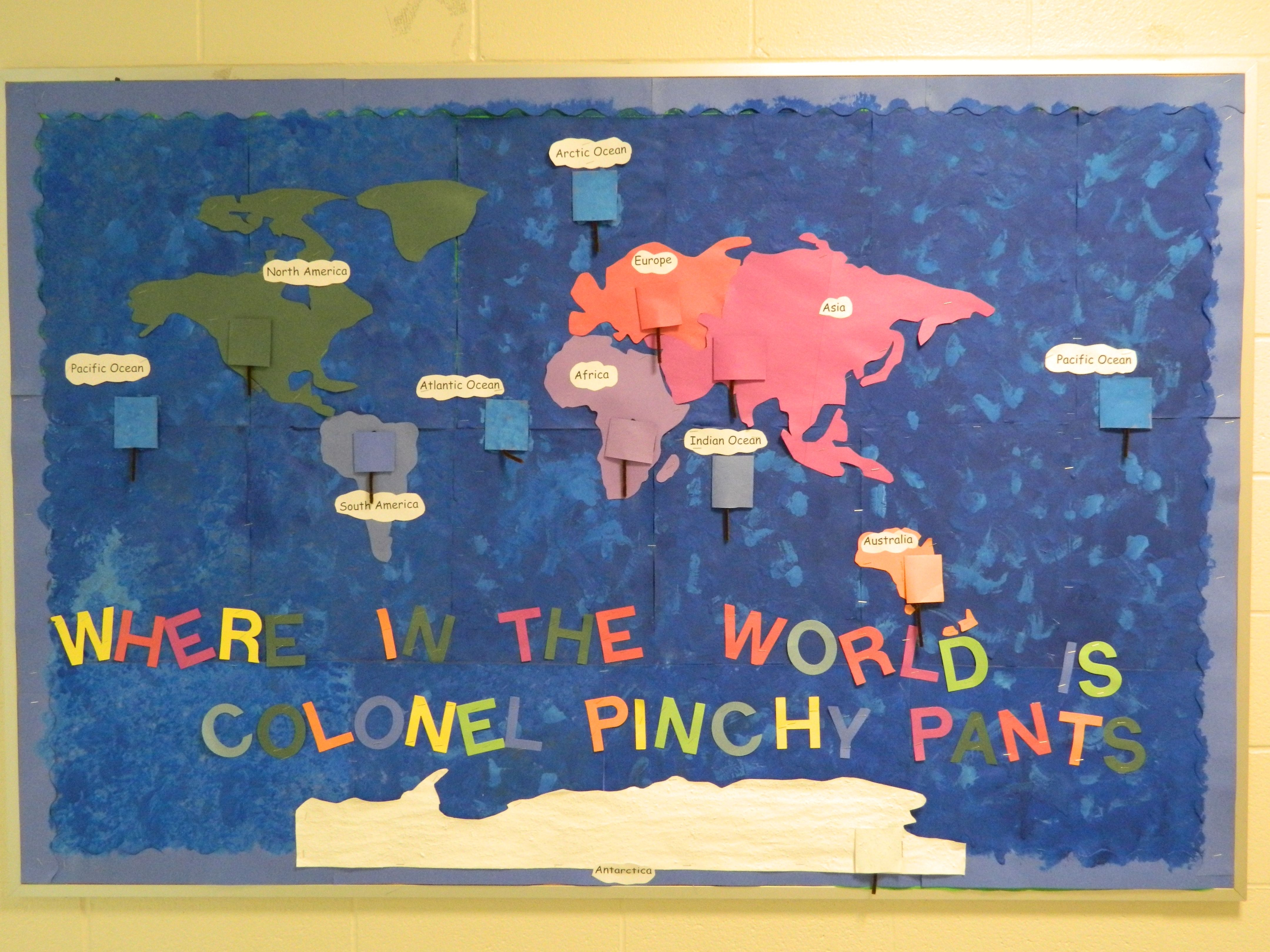 This Was A Fun Bulletin Board I Created To Help A 2nd