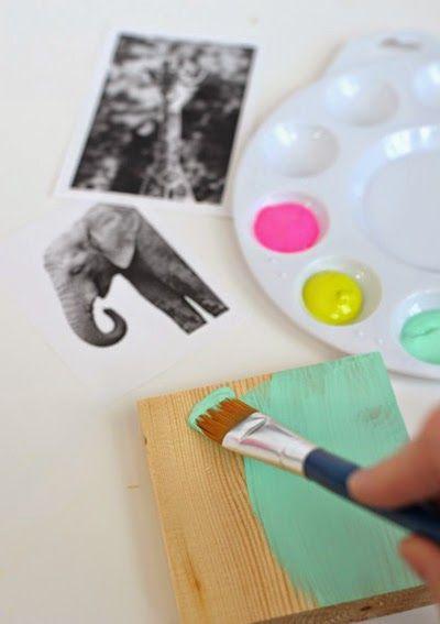 Manulidades Infantiles Haz Unos Cuadros Decorativos Hechos Por - Manualidades-hechas-por-nios
