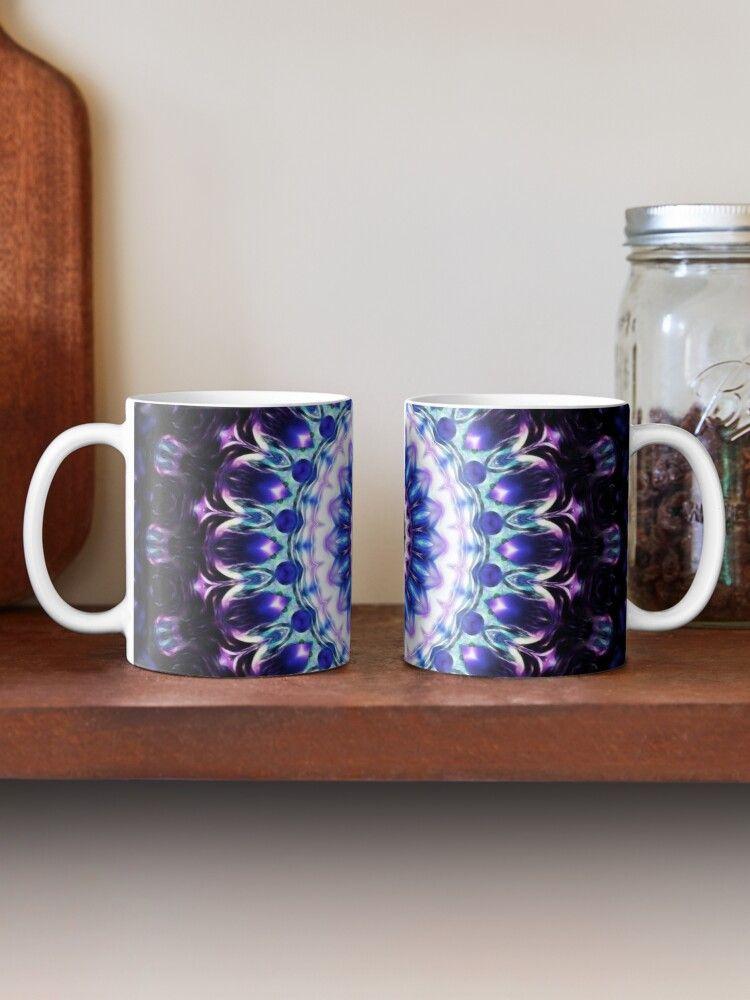 Illuminated peace mandala Mug.