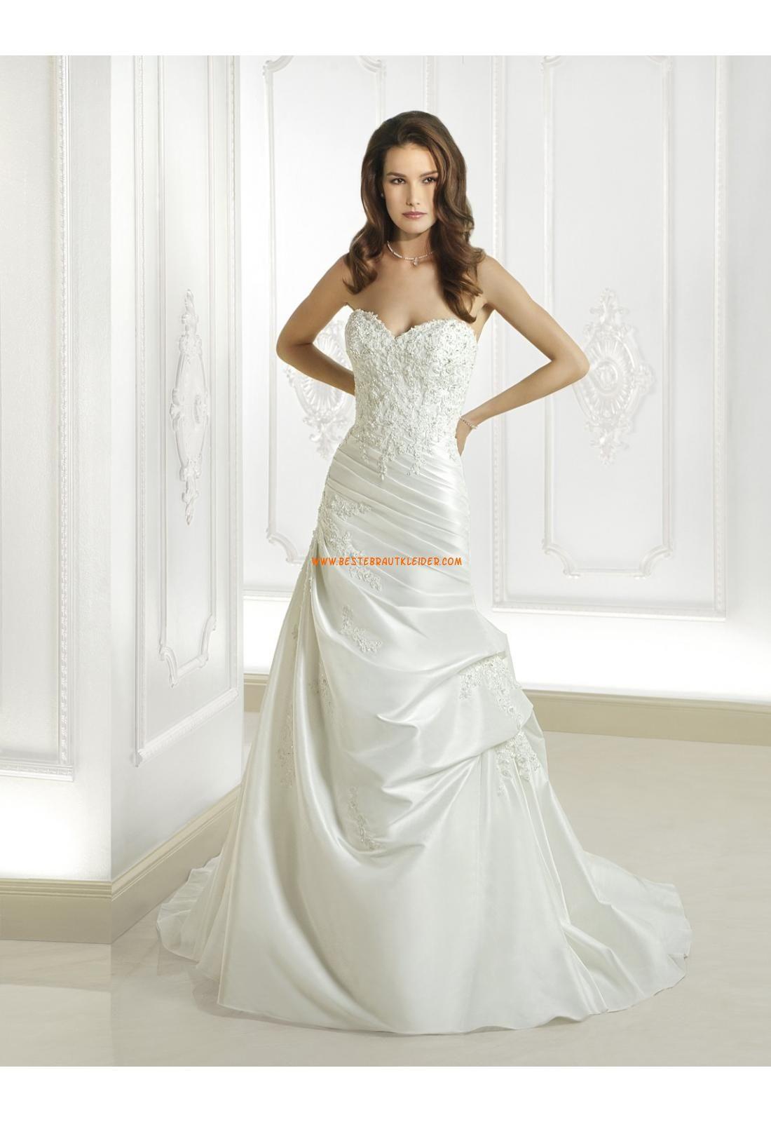 Cosmobella A-linie Elegante Moderne Brautkleider aus Taft mit ...