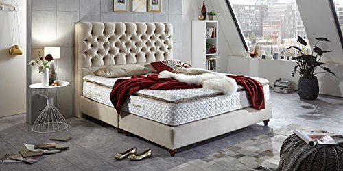 Boxspringbett 180x200 Beige Vegas Hotelbett Doppelbett Matratze Topper Modern Luxus Bett 180x200cm Beige Schlafzimmer Neu Gestalten Boxspringbett Haus Deko
