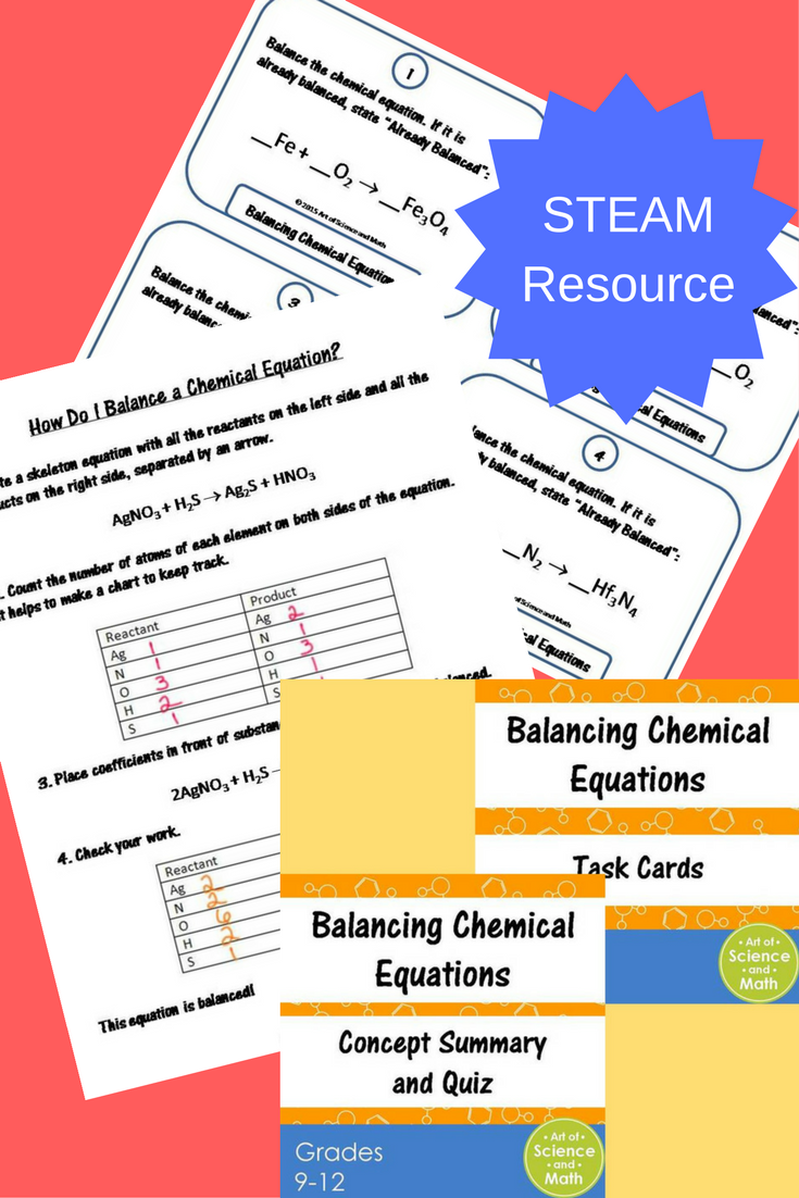 Reinforce The Skill Of Balancing Chemical Equations In Your High School Chemistry Course Equations Chemical Equation High School Chemistry [ 1102 x 735 Pixel ]