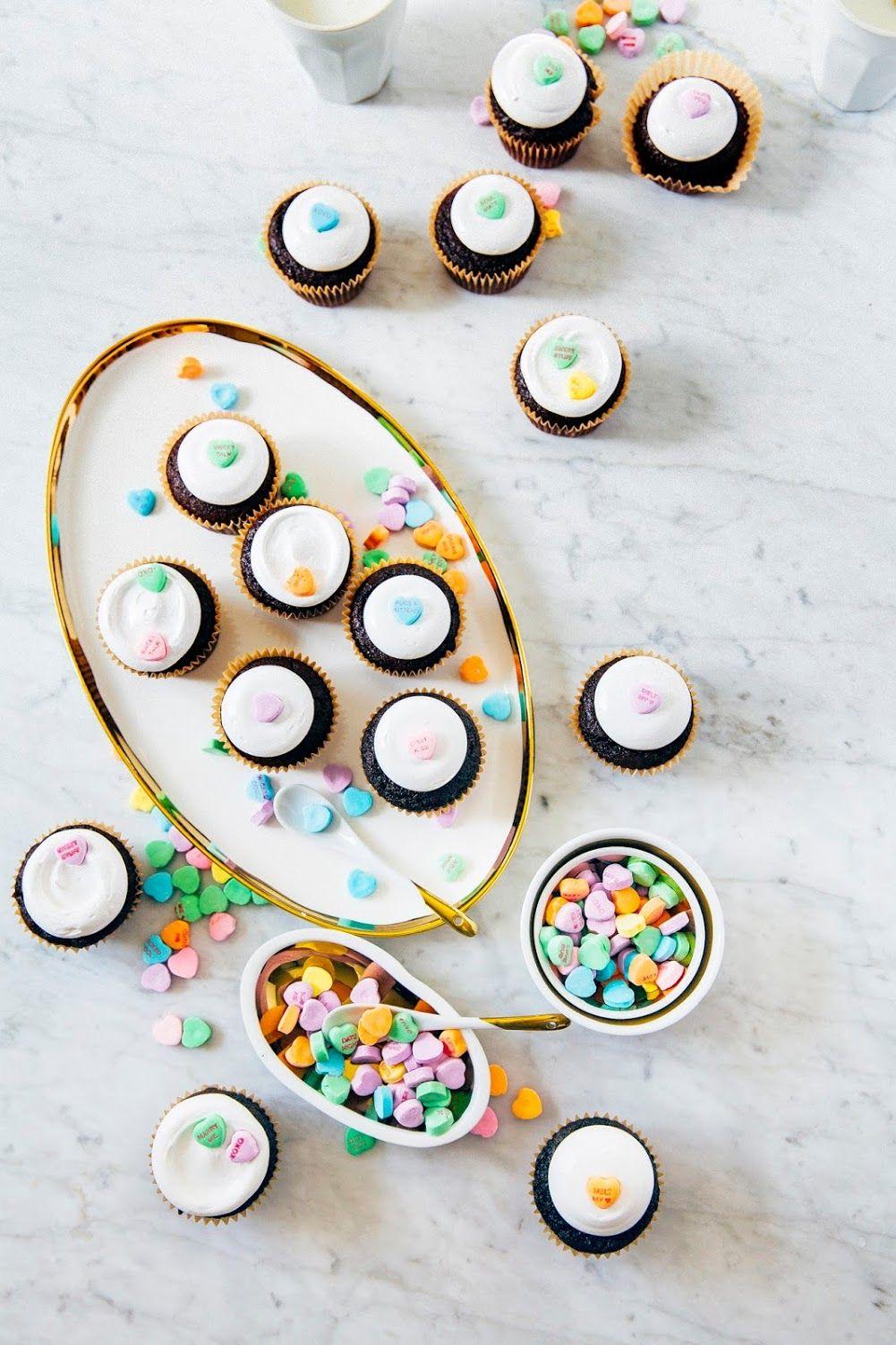 candy heart cupcakes - hummingbird high   a desserts and baking blog