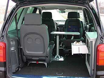 Ford Galaxy Camper Conversion >> Sharan Camper - sonstige Campingfahrzeuge - Camperpoint | Car camping | Pinterest