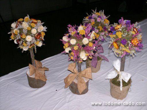 centro de mesas con flores secas - Cerca amb Google Arreglos - flores secas