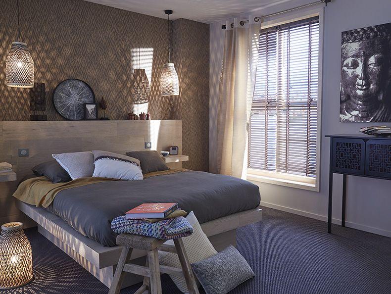 Pingl par julie lallemand sur maison d co chambre exotique d co chambre parents et deco chambre - Deco chambre exotique ...