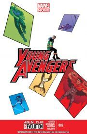 Young Avengers Vol. 2 #2    Has Wiccan made a horrible mistake that comes back to bite everyone on their communal posteriors? Does this guest star the Uncanny Avengers? A figure from Loki's past emerges. Friend? Foe? What will it be?