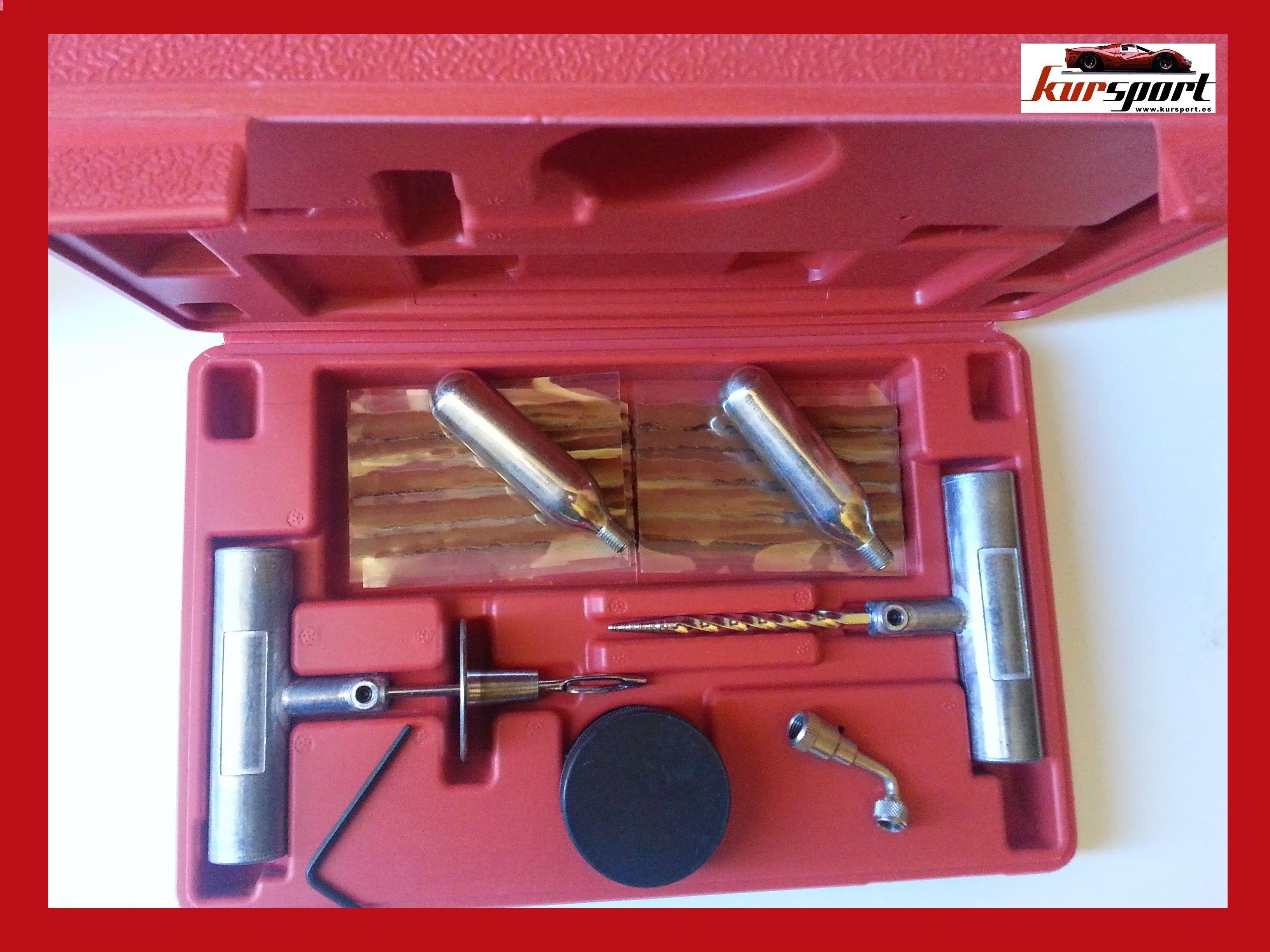 Pin De Accesorios Para Coches Y Motos En Kit Reparacion Pinchazos De Emergencia Neumaticos Tubeless Neumaticos Reparación Motos