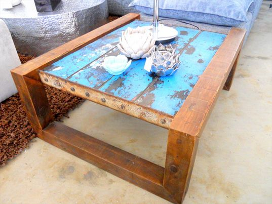 shipwreck furniture: one of a kind nautical furniture made from