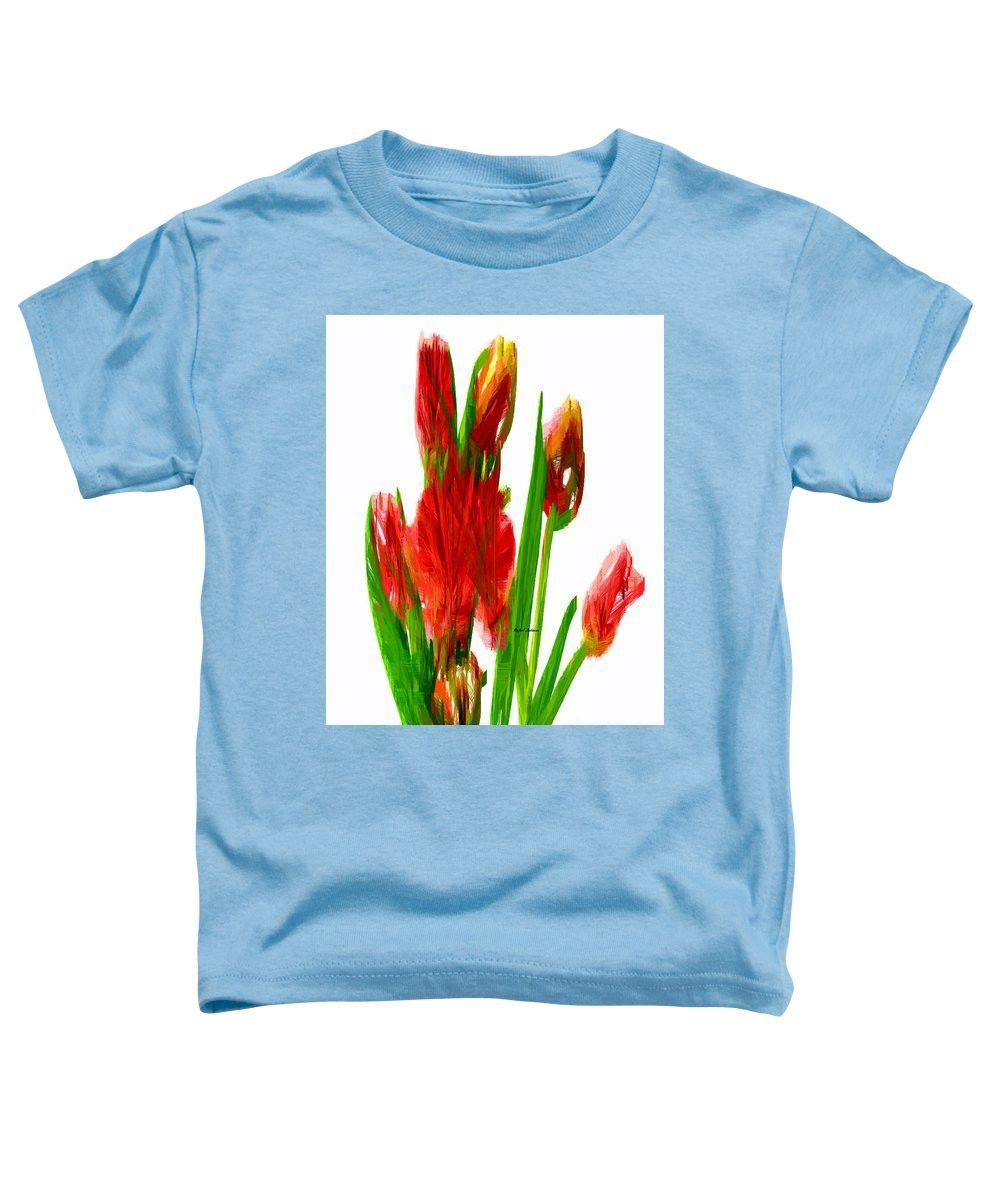 Toddler tshirt red tulips red tulips and products