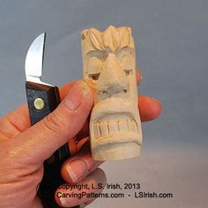 Learn The Fun Hobby Of Wood Carving With This Free Beginner S Wood
