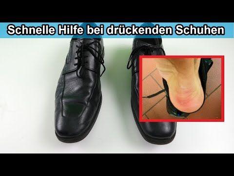 Schuhe drücken & sind zu Eng - Harte Leder Schuhe weicher