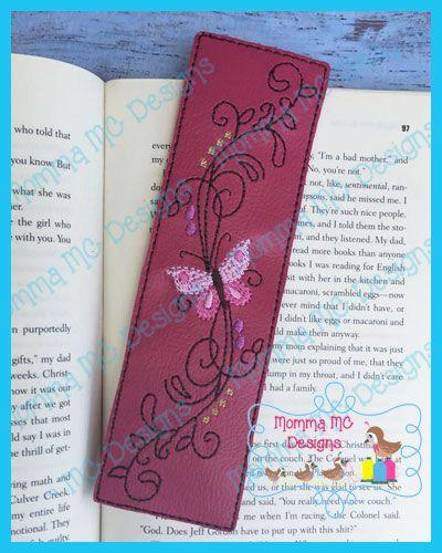 Butterfly 3 Book Mark