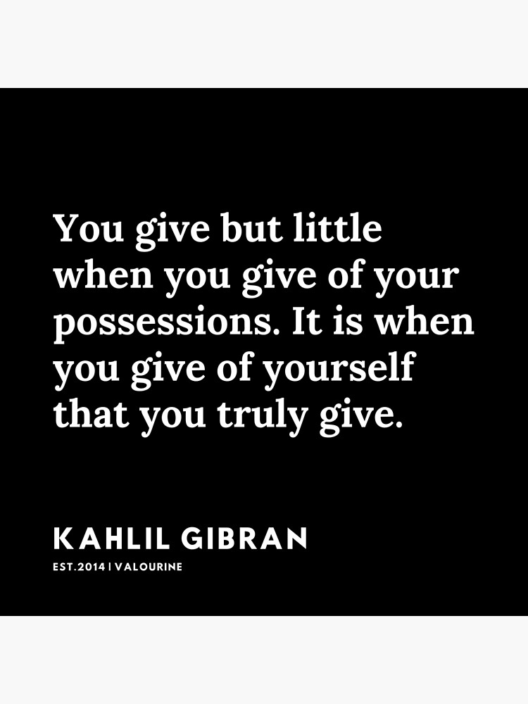 94 |  19119 | Kahlil Gibran Quotes  Poster by QuotesGalore