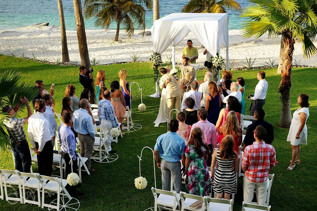 Cancun Beach Wedding Riu Palace Peninsula Destination Hotels Mexico