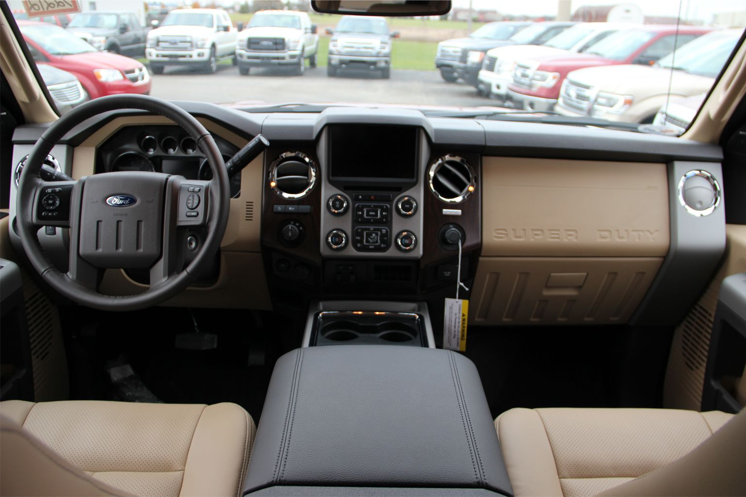 2015 Ford F 250 Interior Adobe Leather