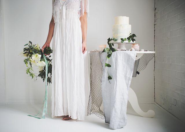White and aqua wedding   JessaKae Photography   see more on: http://burnettsboards.com/2015/01/song-siren/