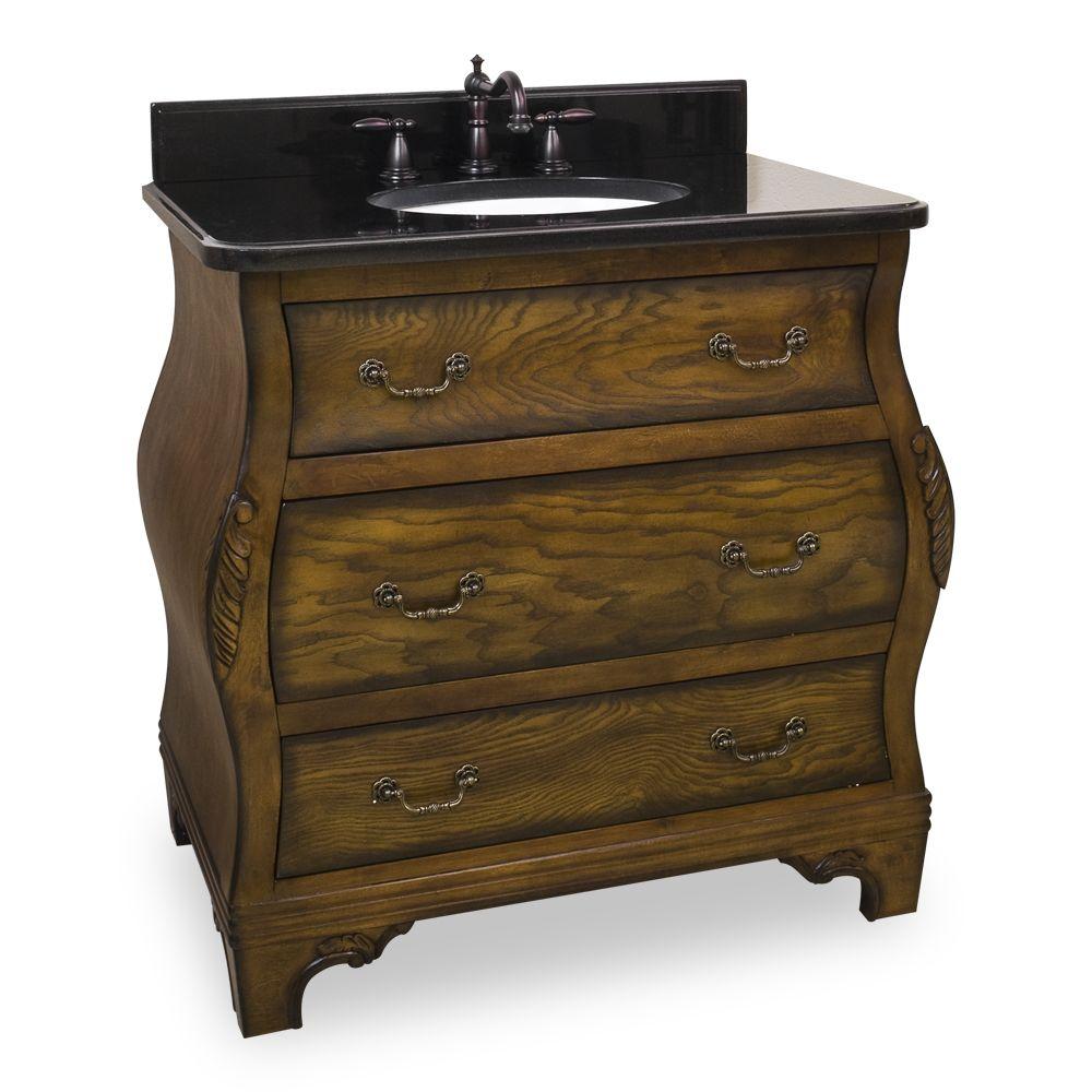34 Inch Bathroom Vanity
