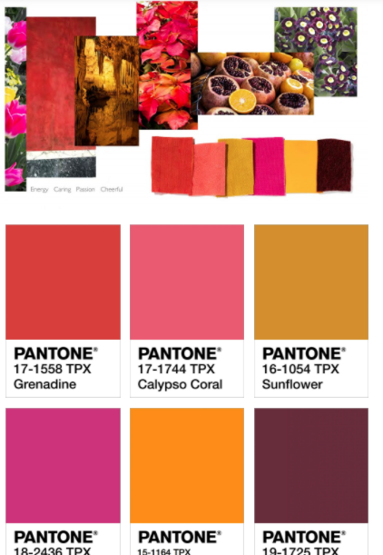 Pantone Color Trend Spring Summer 2021 Spring Color Palette Spring Pantone Spring Colors