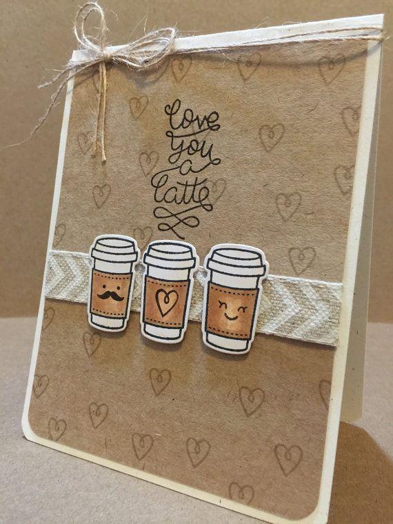 кофейные открытки ручной работы знаю