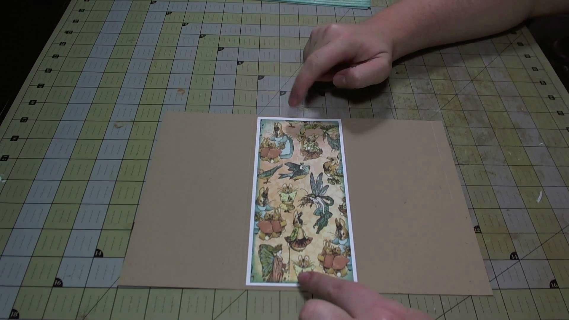 Scrapbook ideas tutorial - Scrapbook Tutorial Double Slider Pocket