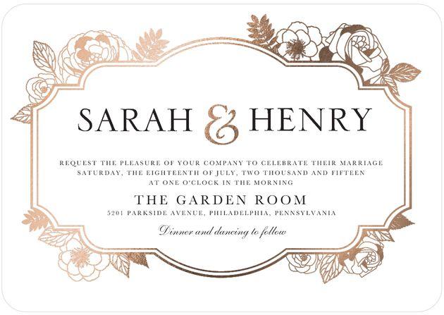 wedding invitation words