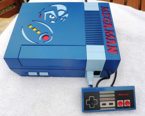 We Want This Custom Mega Man NES Console | Gaming Consoles ...