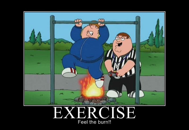 Make simple exercising an integral part of your daily life.  Comment if you think it's not at all simple !