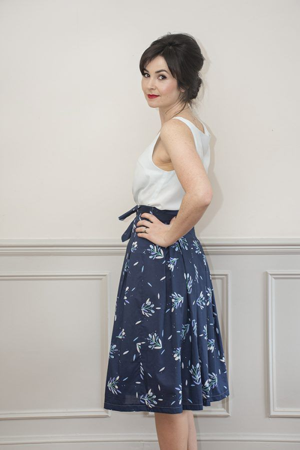 Emmeline Skirt Sewing Pattern: Sew Over It Online Fabric Shop ...
