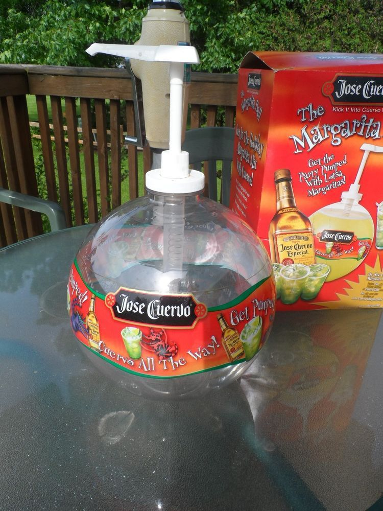 Jose Cuervo Margarita Ball Pump Drink Dispenser KEG BALL Tequila