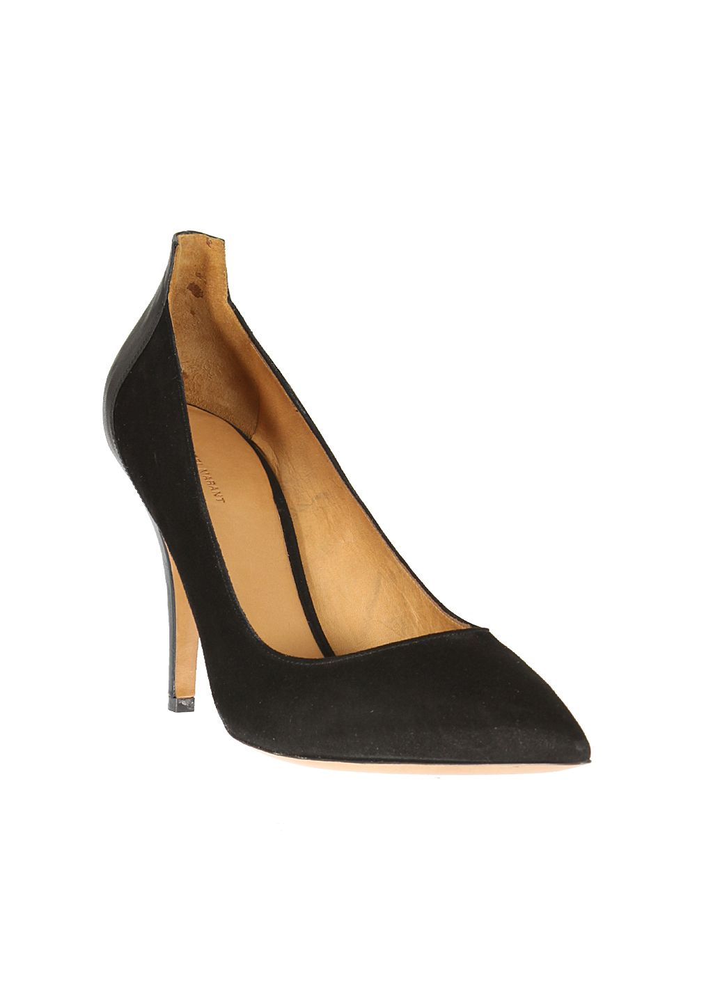 Isabel Marant Pumps :: Isabel Marant black suede and leather pumps | Montaigne Market