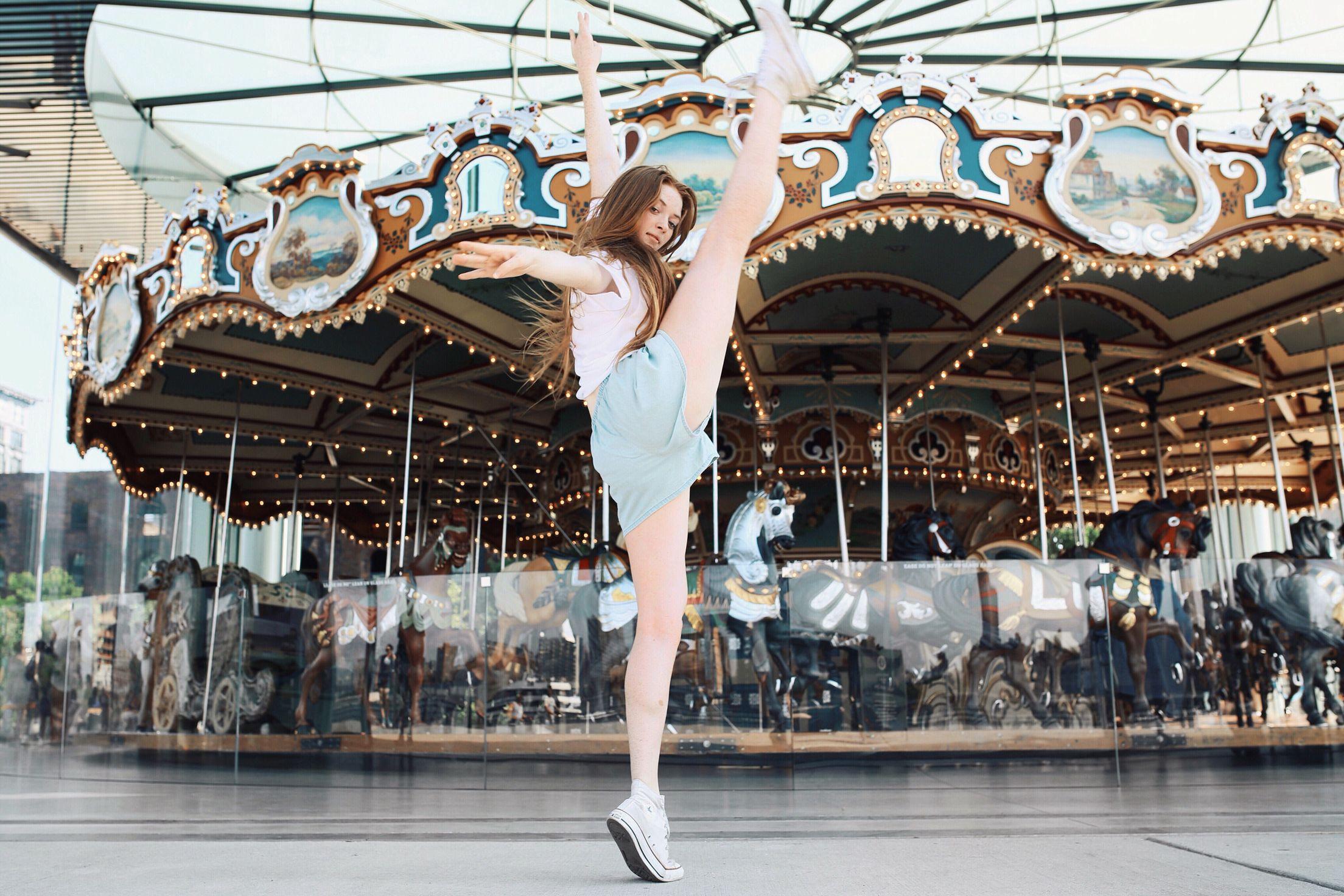 Model/Dancer Larsen Thompson Photographers: Delaney & Caitlyn Poli