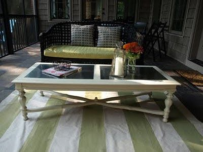 Less Than Perfect Life Of Bliss: Metal Top Coffee Table: Oh. I Love ...
