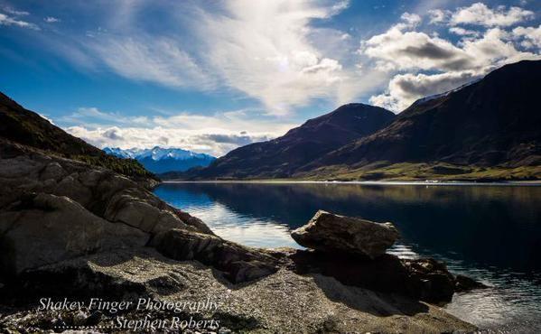Lake Hawea, New Zealand from http://www.doc.govt.nz/
