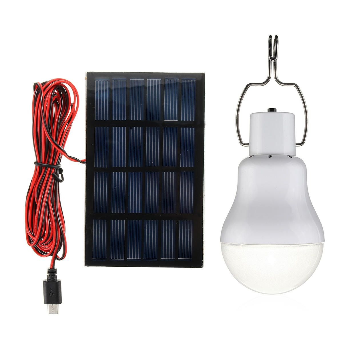 5v 1w Solar Panel Powered Led Bulb Light Portable Outdoor Camping Specifications Voltage 1w 5v Light Color Whi Solar Panels Led Bulb Led Light Bulb