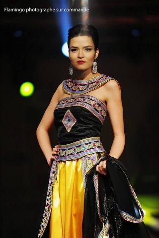 Coiffure spéciale mariée Haute couture Robe kabyle