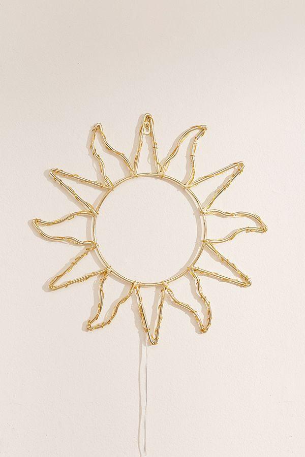 Celestial Sun Light Sculpture