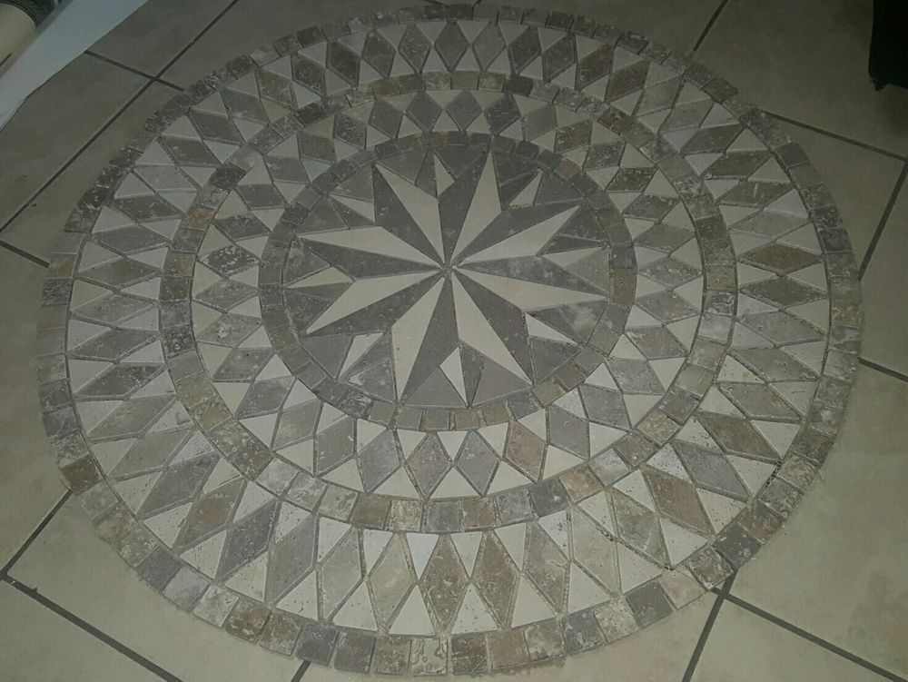 Granite Floor Hall Travertine