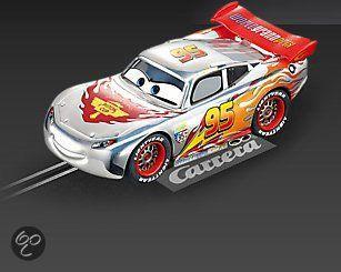 carrera go cars silver lightning mcqueen racebaanauto simon