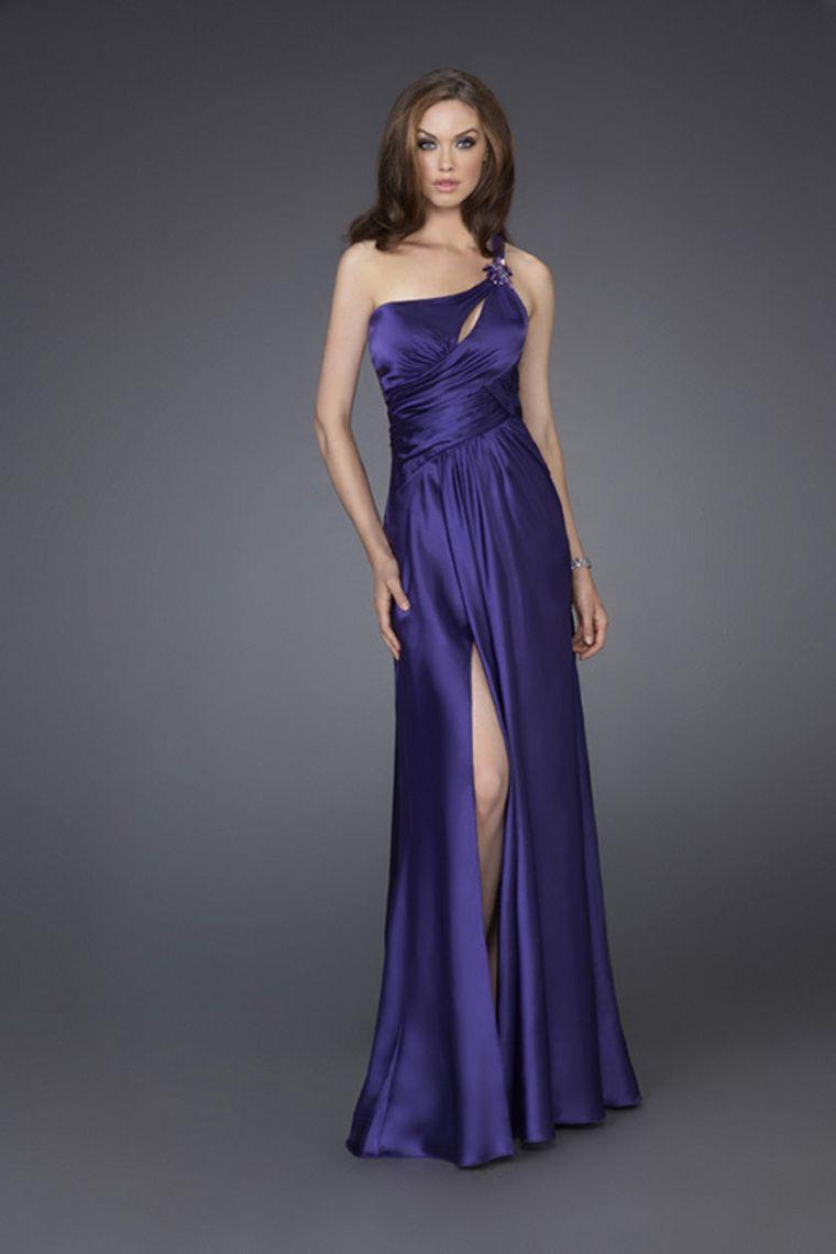 Prom dresses under one shoulder sheathcolumn prom dresses under
