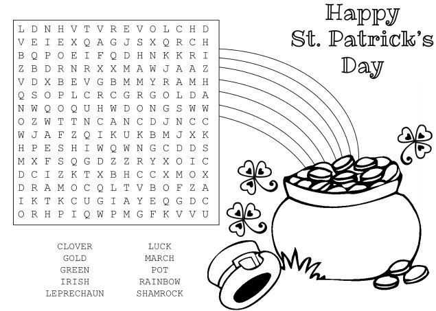 photograph regarding St Patrick's Day Worksheets Free Printable known as Free of charge St. Patricks Working day Worksheets Printables for Young children