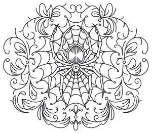 gothic gala spiderweb design uth7016 from urbanthreads com