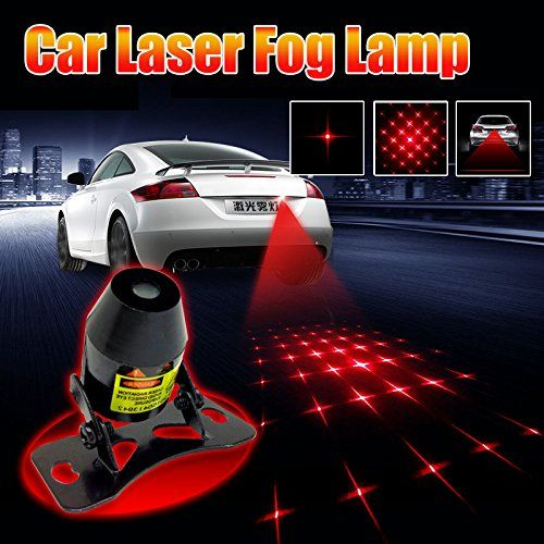 Motorcycle  Vehicle Anti Collision Laser  Car Rear Tail Lights Foglights