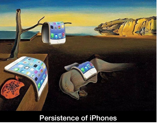 Reference To Salvador Dali S The Persistence Of Memory Art Parody Art Dali