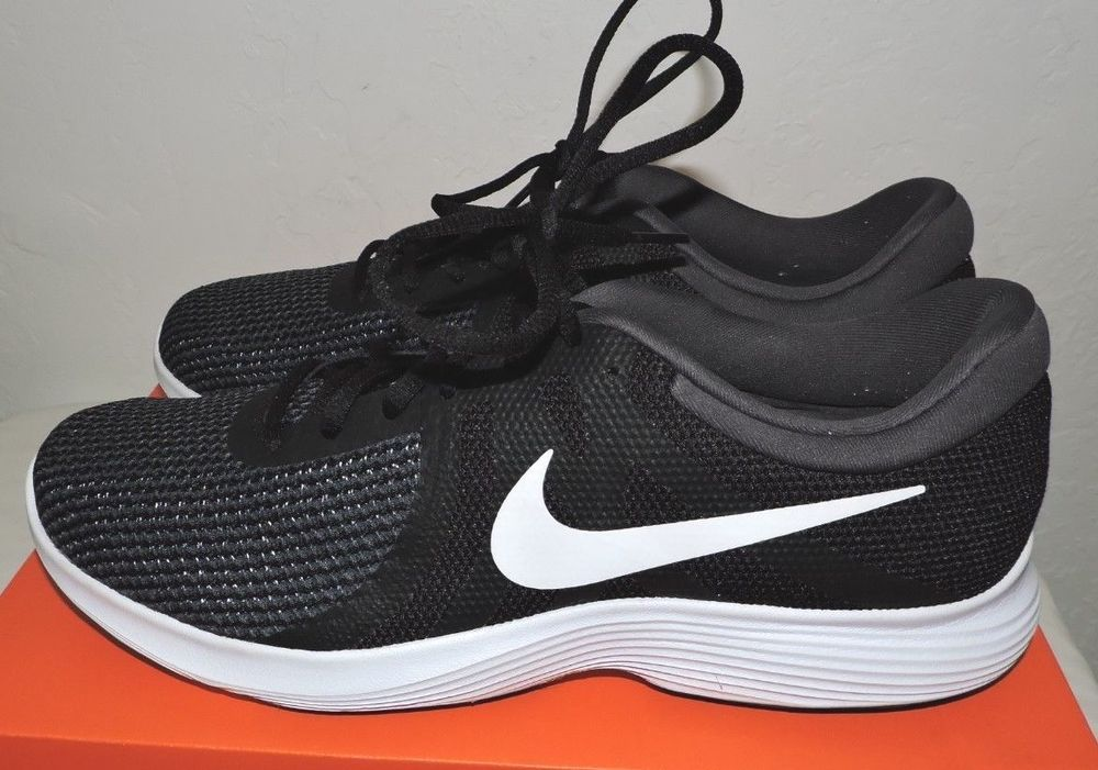 free shipping 0b8d6 813a7 Nike Men s Revolution 4 Running Shoes 908988 001 Black White Anthracite  Size 12  fashion  clothing  shoes  accessories  mensshoes  athleticshoes  (ebay link)