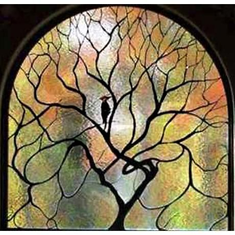 Stained Glass Tree of Life Shower Curtain on CafePress.com - Stained Glass Tree Of Life Shower Curtain On CafePress.com Color