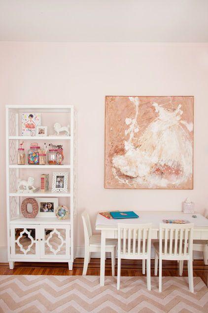 Soft Pink Paint Color Gentle Erfly By Benjamin Moore Eclectic Kids Caitlin Wilson