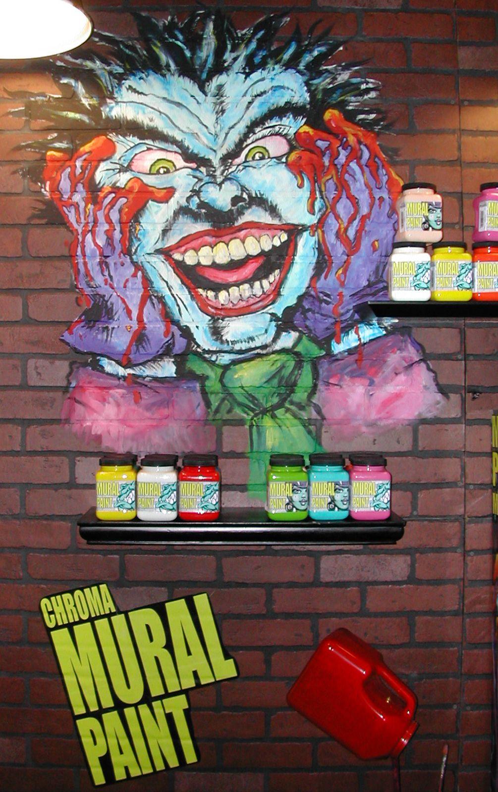 Chroma Mural Markers Design recreated by Chroma's Resident Artist, Jennifer VonStein using Chroma Mural Paint & Mural Paint Markers